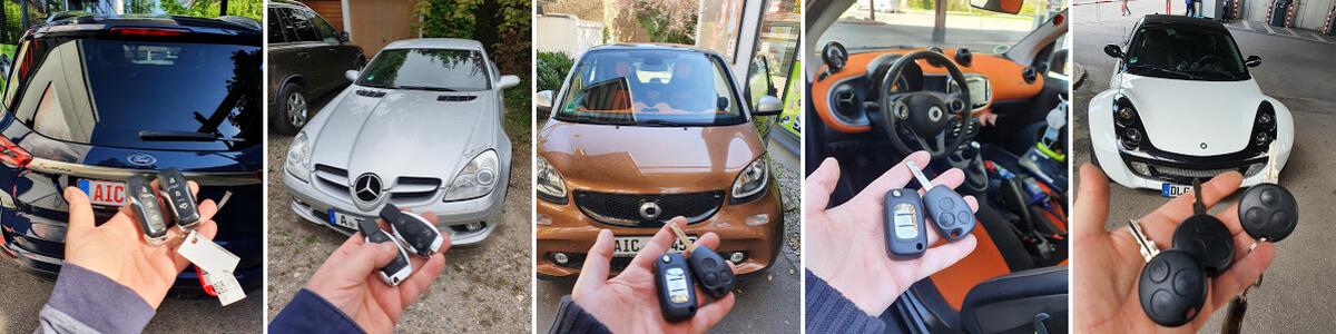 Autoschlüssel nachmachen lassen